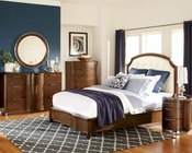 Homelegance Bedroom Set w/ Bonded Leather Headboard Zelda EL2238SET