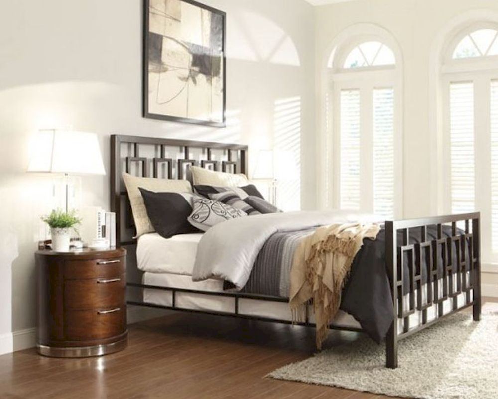 homelegance bedroom set w metal bed zelda el2865set