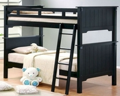 Homelegance Bunk Bed in Black Pottery EL-B875-1
