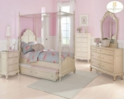 Homelegance Canopy Poster Bedroom Set Cinderella EL-1386PP-1SET