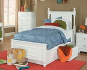 Homelegance Captain's Bed with Toy Box Morelle EL-1356FPRW-1TBED