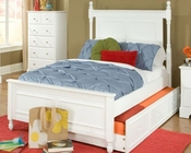 Homelegance Captain's Bed with Trundle Morelle EL-1356FPRW-1RBED