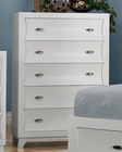 Homelegance Chest Zandra in Pearl White Finish EL2262W-9