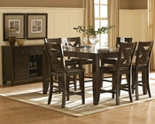Homelegance Counter Height Dining Set Crown Point EL1372-36SET