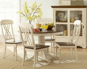 Homelegance Dining Room Set Ohana in White Finish EL1393W-48SET