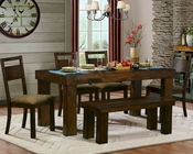 Homelegance Dining Set Eagle Ridge EL-5059-72-SET