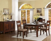 Homelegance Dining Set Gallatin EL-5057-78-SET