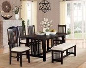 Homelegance Dining Set Irrington EL-5046-72-SET