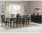 Homelegance Dining Set Sanibel EL-2119BK-78-SET