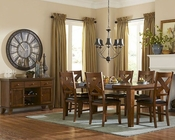 Homelegance Dining Set Silverton EL-2612-82-SET