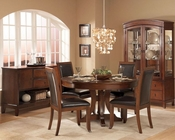 Homelegance Dining Set w/ Pedestal Table Avalon EL1205-54SET