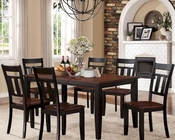 Homelegance Dining Set Westport EL-5079BK-66-SET