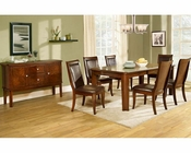 Homelegance Dining Set Wolfe EL-2600-78-SET
