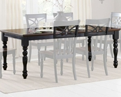 Homelegance Dining Table Sanibel EL-2119BK-78