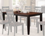 Homelegance Dining Table Westport EL-5079BK-66