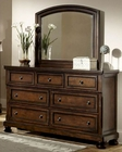 Homelegance Dresser and Mirror Cumberland EL-2159-6