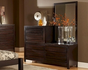 Homelegance Dresser and Mirror Danika EL2205-56TB