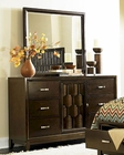 Homelegance Dresser and Mirror Darien EL2242-56