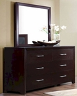 Homelegance Dresser and Mirror Edina EL-2145-6