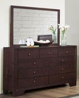 Homelegance Dresser and Mirror Kari EL-2146-6