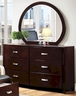 Homelegance Dresser and Mirror Lyric EL-1737NC-6