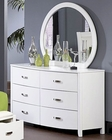 Homelegance Dresser and Mirror Lyric EL1737-56