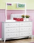 Homelegance Dresser and Mirror Sparkle EL-2004-6
