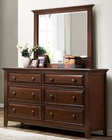 Homelegance Dresser and Mirror Sunderland EL-2157-6