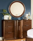 Homelegance Dresser and Mirror Zelda EL2238-56