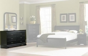 Homelegance Dresser in Black EL-539BK-5