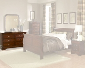 Homelegance Dresser in Warm Cherry Chateau Brown EL549-5