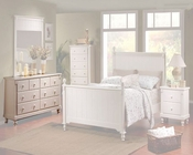 Homelegance Dresser in White Sand Pottery EL875W-5