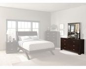 Homelegance Dresser with Mirror in Espresso Astrid EL1313-5SET