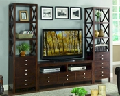 Homelegance Entertainment Wall Unit Polson EL8019
