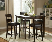 Homelegance Five-Piece Pack Counter Height Set Griffin EL-2425-36-SET