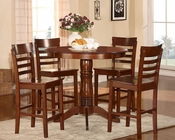 Homelegance Five-Piece Pack Counter Height Set Wayland EL-2457-36-SET