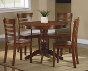Homelegance Five-Piece Pack Dinette Set Wayland EL-2457-SET