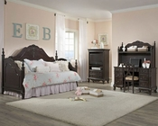 Homelegance Kids Bedroom Set Cinderella in Dark Cherry EL-1386DNCSET