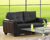 Homelegance Loveseat Dwyer EL-9701BLK-2