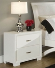 Homelegance Night Stand Astrid in White EL1313W-4