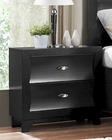 Homelegance Night Stand Zandra in Pearl Black Finish EL2262BK-4