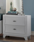 Homelegance Night Stand Zandra in Pearl White Finish EL2262W-4
