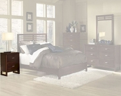 Homelegance Nightstand in Cherry Paula EL1348-4