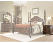 Homelegance Nightstand in Warm Brown Prenzo EL1390-4
