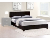 Homelegance Platform Bed in Dark Brown Zoey EL5790F-1