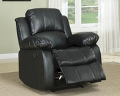 Homelegance Reclining Chair Cranley in Black EL-9700BLK-1