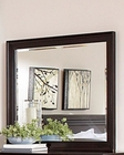 Homelegance Rectangular Mirror Inglewood in Deep Cherry EL1402-6RT