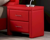 Homelegance Red Nightstand Aven EL-5795RD-4