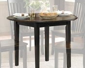 Homelegance Round Dining Table Three Falls EL-5023-42