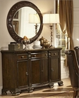 Homelegance Server w/ Mirror Orleans EL-2168-40SM